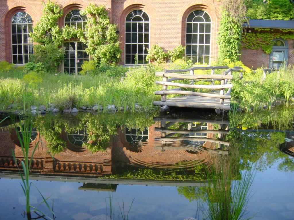Ökowerk im historischen Wasserwerk im Grunewald