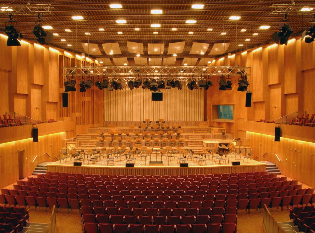 Großer Sendesaal im Haus des Rundfunks rbb