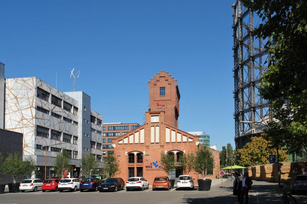 Gasometer Schöneberg EUREF Campus