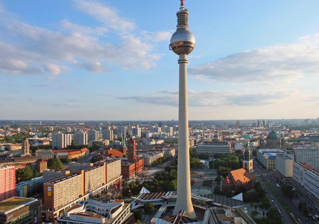 Fernsehturm Panorama Berlin