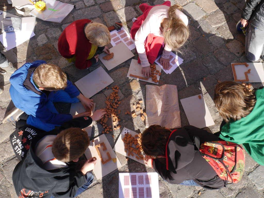 AEDES kleine Baumeister Kinder Workshop