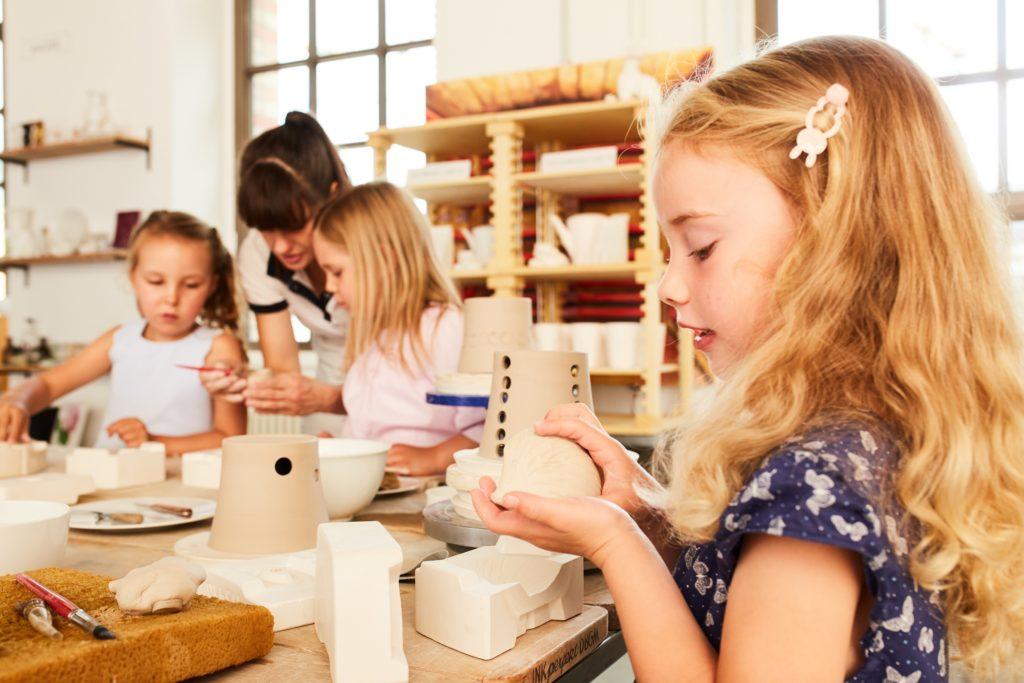 KPM Mädchen Porzellan Workshop