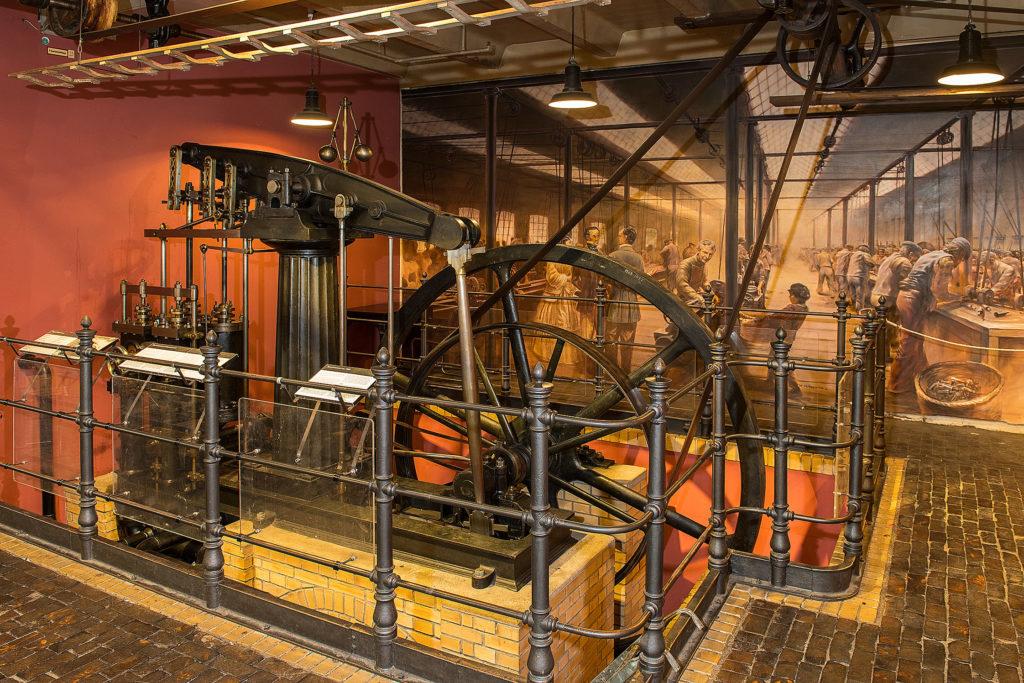 Industrielle Revolution Dampfmaschine Technikmuseum