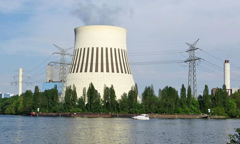 Kraftwerk Reuter West Kühlturm