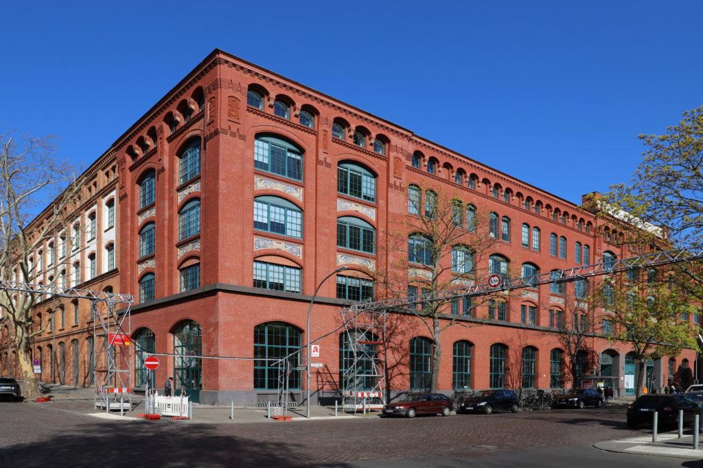 AEG-Apparatefabrik, roter Backsteinbau