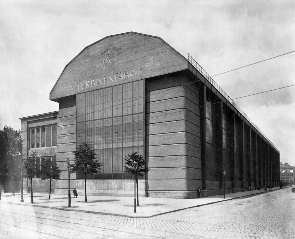 AEG Turbinenhalle historisch Peter Behrens
