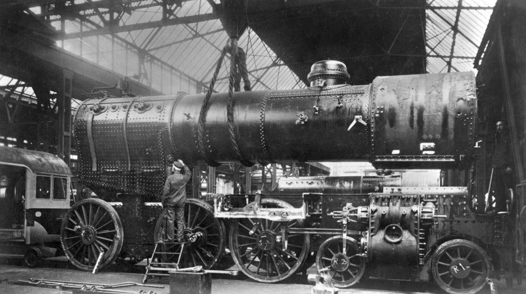 Lokomotive Borsig Produktion 1915