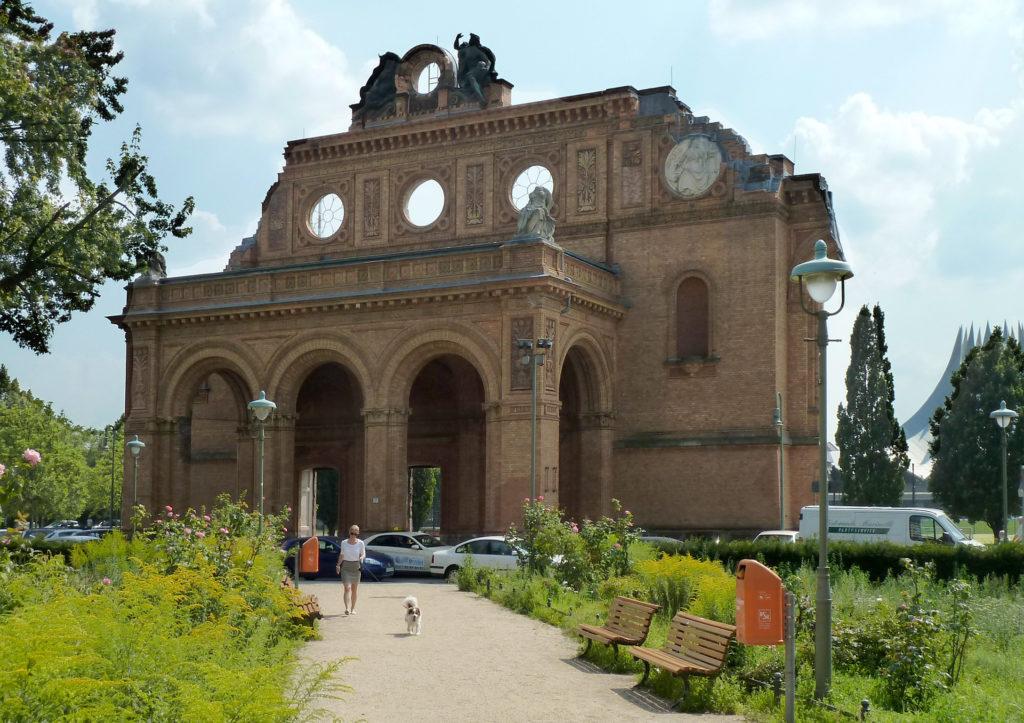 Ruine des Portikus, Anhalter Bahnhofs