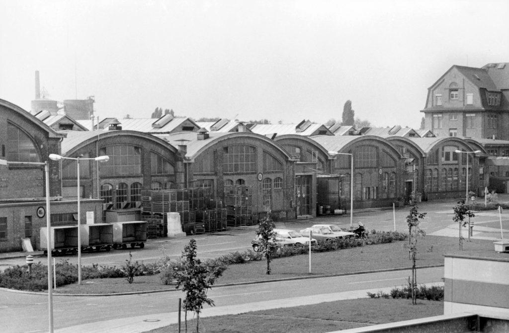 Fabrikhallen BMW Motorrad Werk 1975