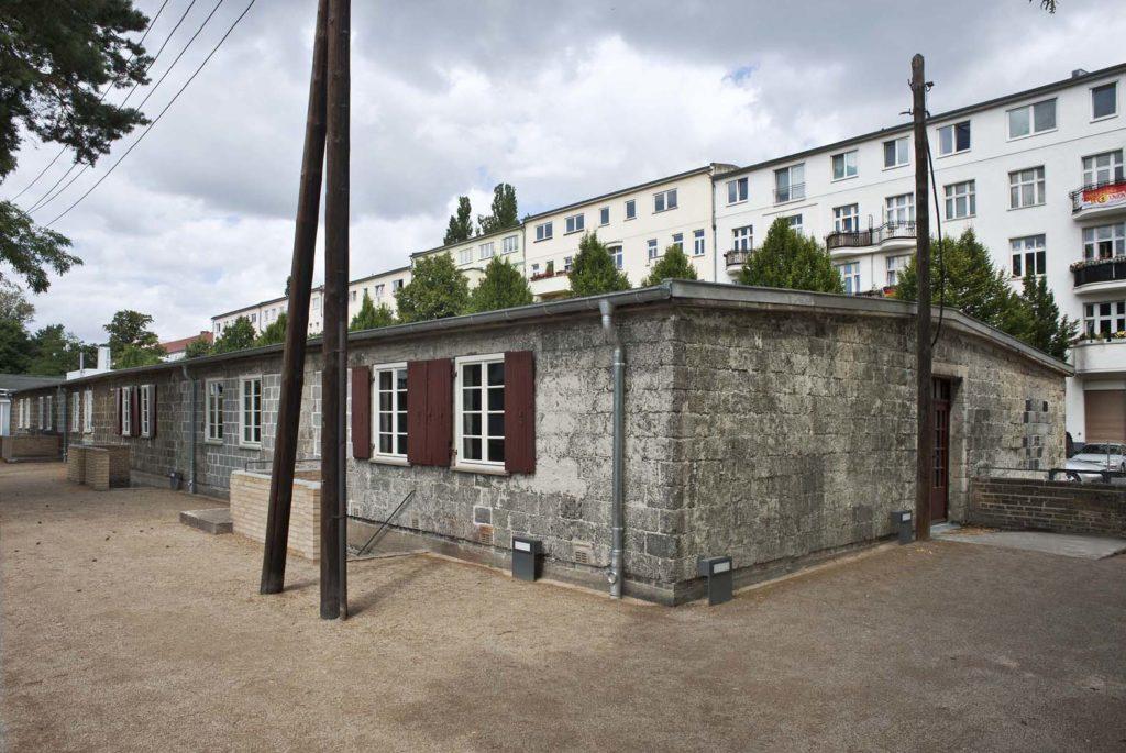 Baracke im Zwangsarbeit-Lager Schöneweide