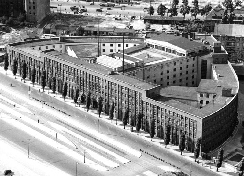 Historisches Luftbild Haus des Rundfunks 1957