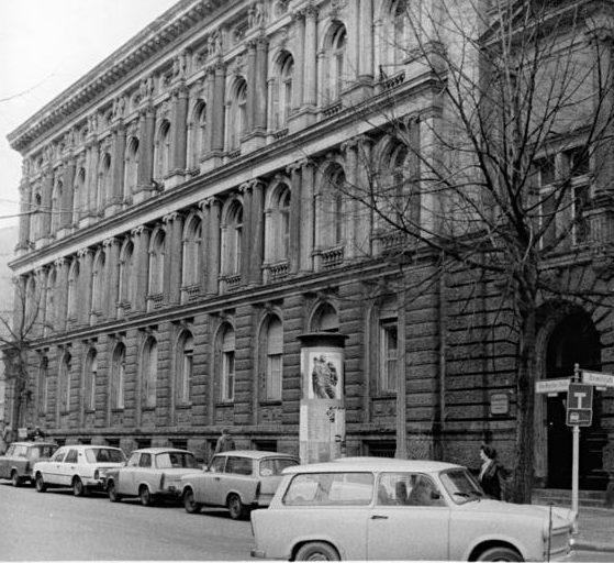 Historische Außenansicht Generaltelegrafenamt