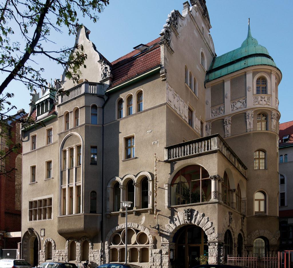 Villa der Brauerei Groterjan, Fassadenansicht