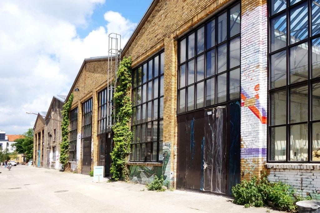 Reinbeckhallen Ausstellung Atelier