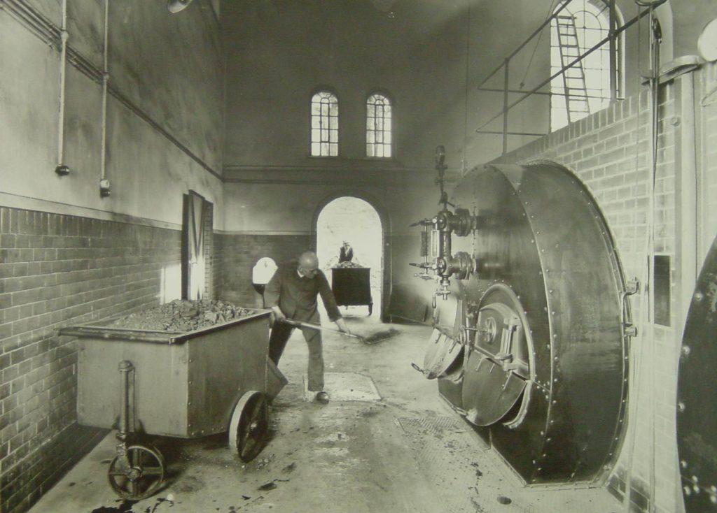Historisches Kesselhaus im Ökowerk Berlin 1920