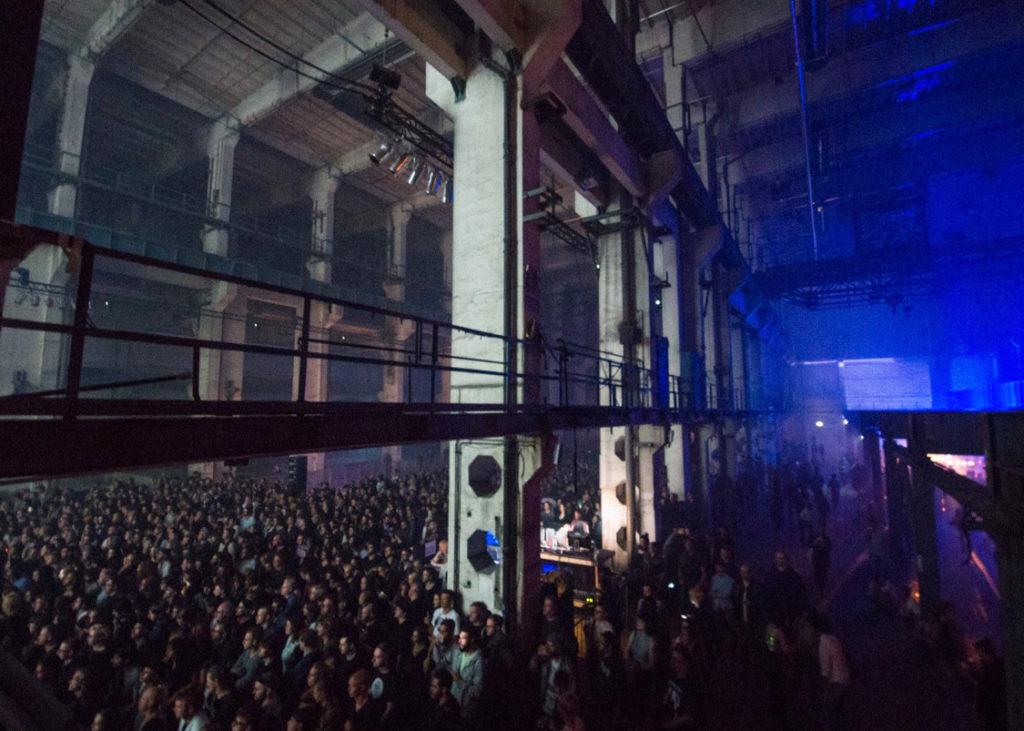 Große Halle, Party im Kraftwerk Berlin