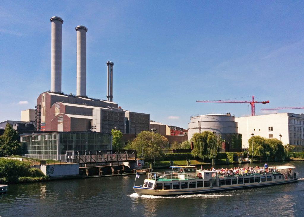 Kraftwerk Mitte an der Spree