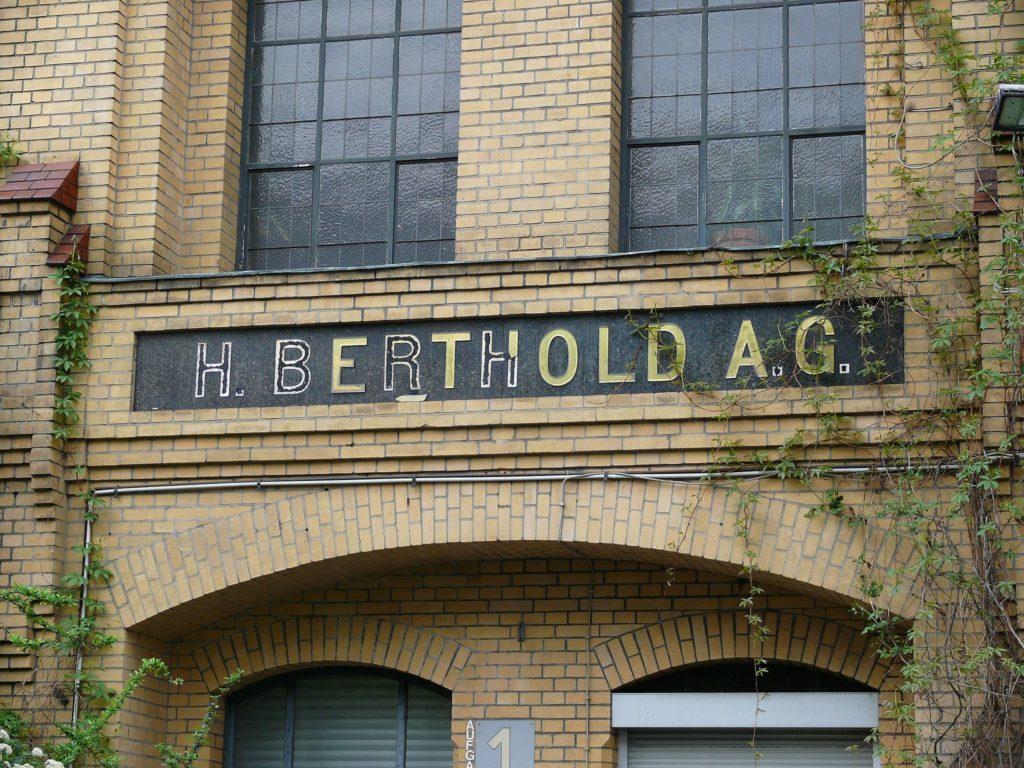 Mehringhof Schild Berthold AG