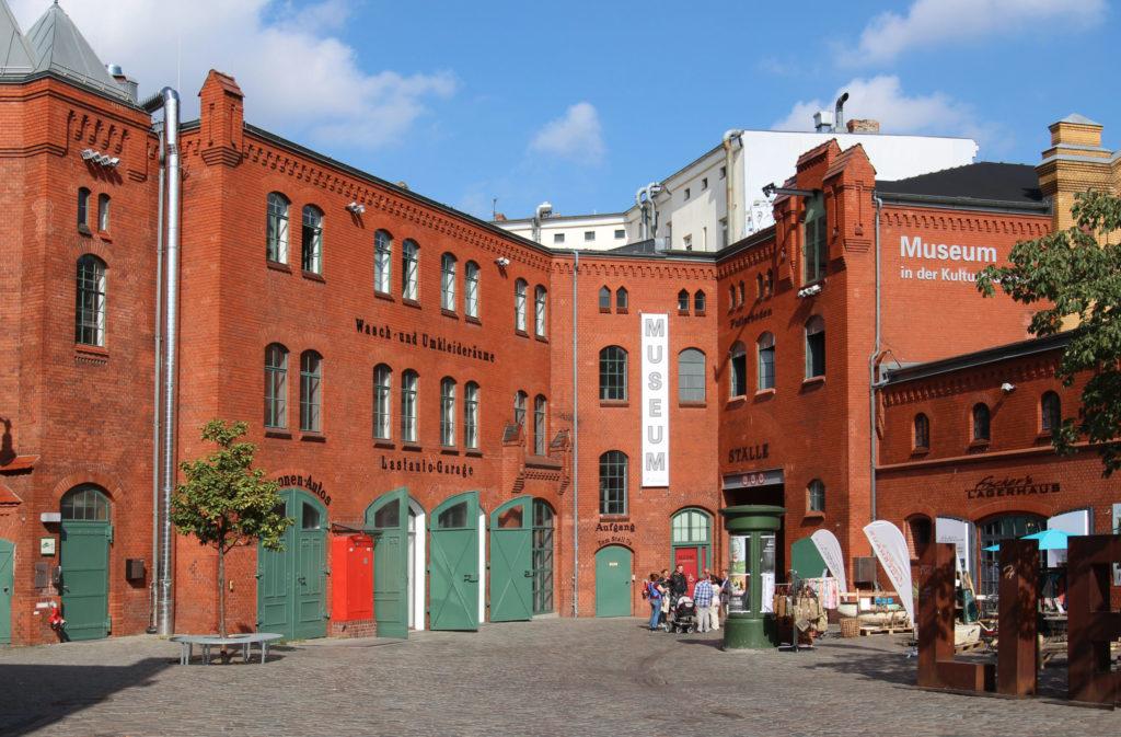 Hof der KulturBrauerei mit Museum