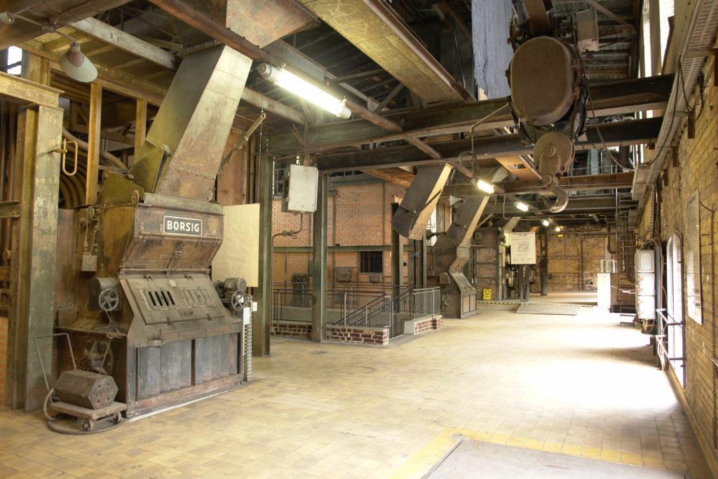 Historische Dampfkessel im Museum Kesselhaus