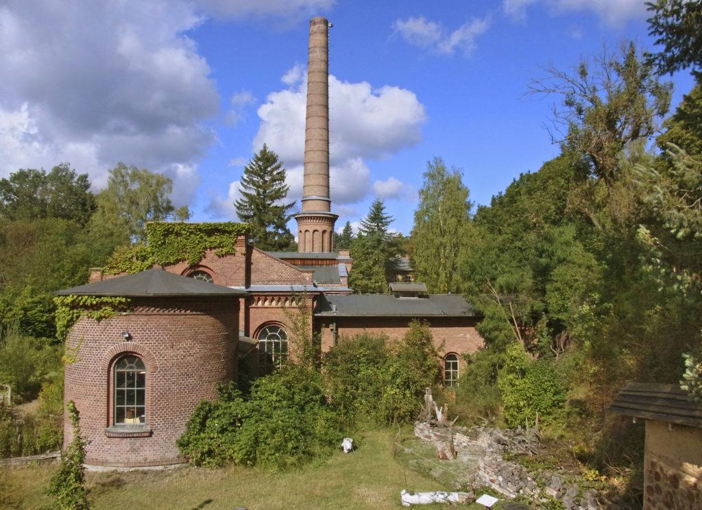 Ökowerk im historischen Wasserwerk in Grunewald