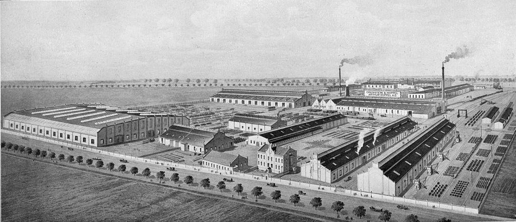 Fabrik der Orenstein & Koppel 1913