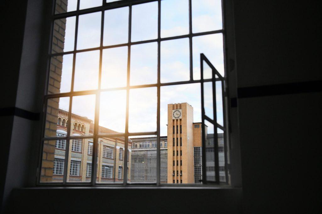 Osram-Höfe Blick aus dem Fenster