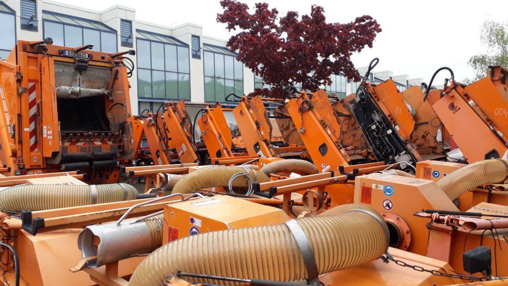 BSR Hauptwerkstatt Müllfahrzeuge