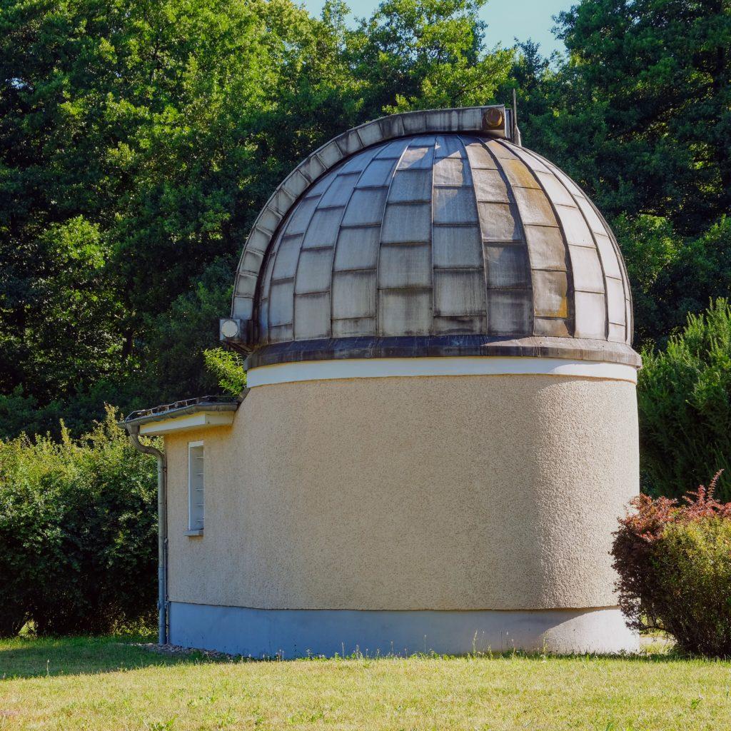 Archenhold-Sternwarte, Blick auf Kuppel