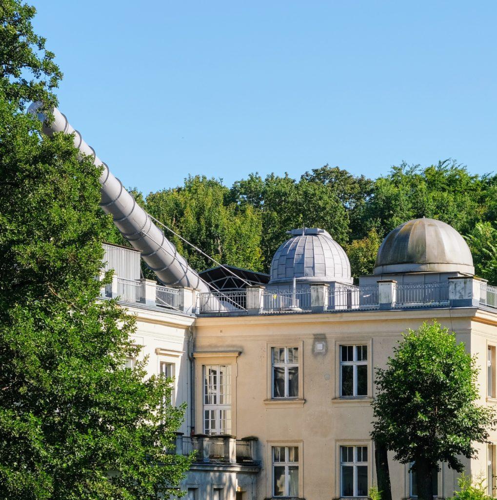 Archenhold-Sternwarte mit dem Großen Refraktor