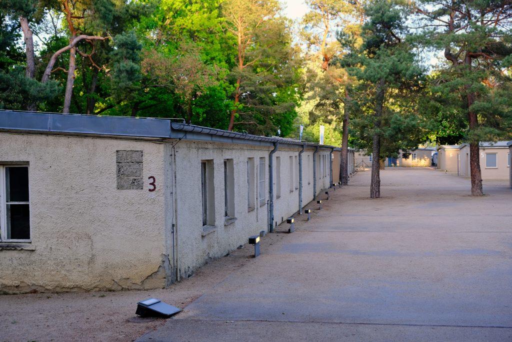 Baracken im Zwangsarbeit-Lager Schöneweide