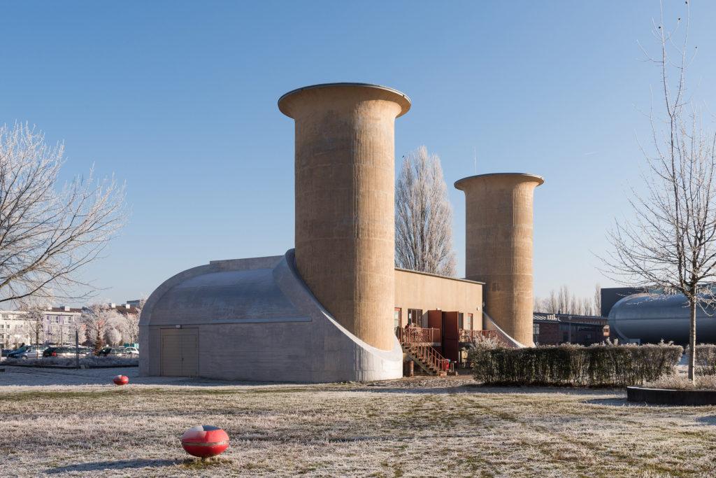 Motorenprüfstand in Adlershof.