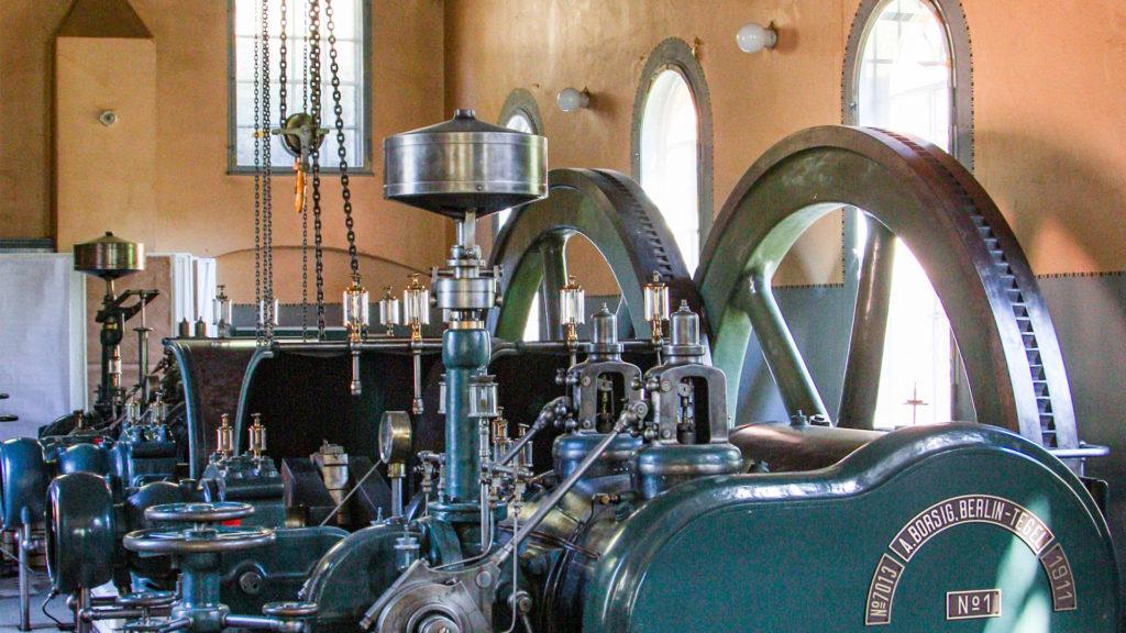 Dampfmaschine im Ökowerk Berlin