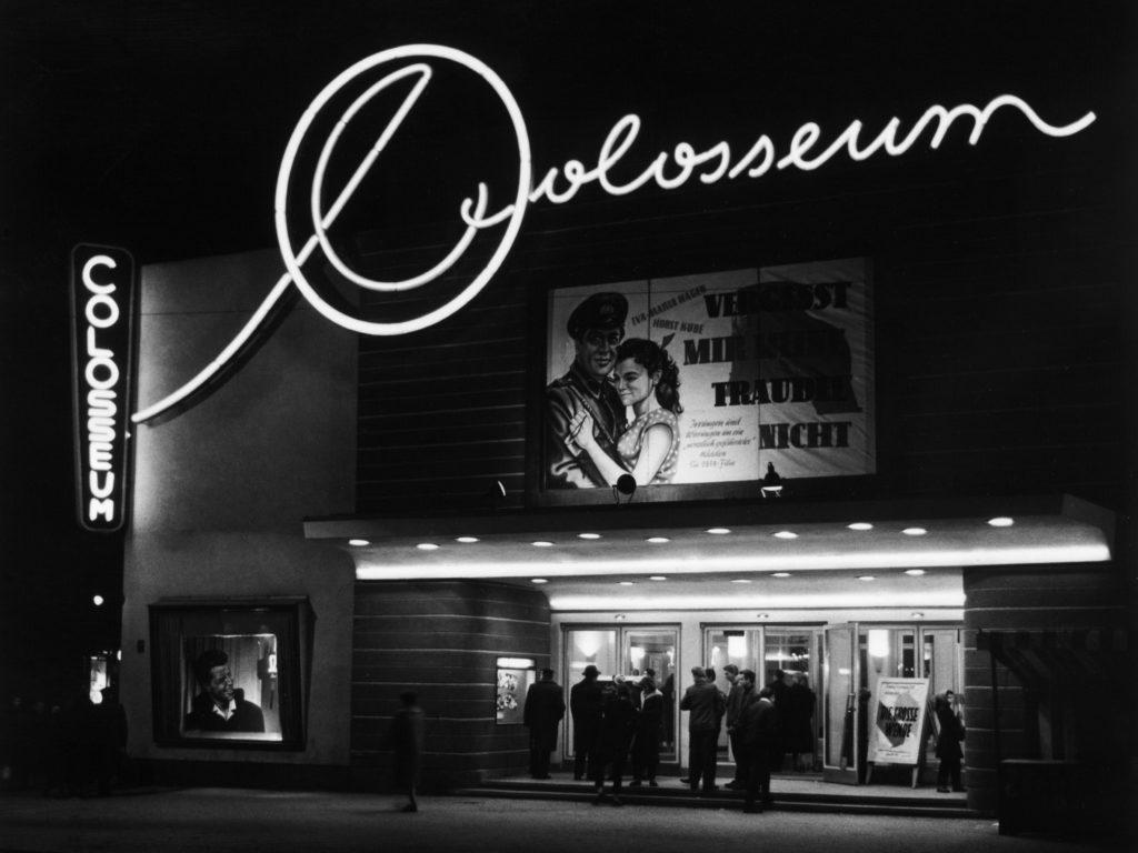 Kino Colosseum 1957