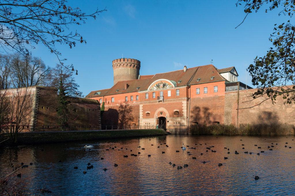 Stadtgeschichtliche Museum Spandau in der Zitadelle mit Wassergraben