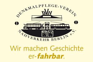 Logo: Denkmalpflege-Verein Nahverkehr Berlin e.V.